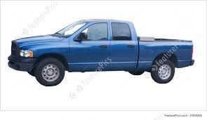 Auto Transport: 4 Door Blue Truck - Stock Picture I1958208 At ...