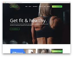 18 Best Free Fitness Website Templates 2019 - Colorlib