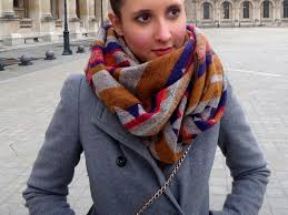 latest trendy most fashionable chain style warm scarf for women