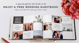 FREE Wedding Guest Book Or Photo From Shutterfly