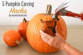 Preserving A Carved Pumpkin by Hocus Pocus 5 Pumpkin Carving Hacks Lauren Conrad