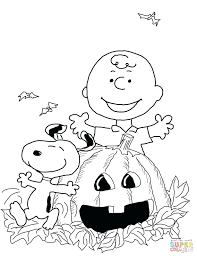 Printable Halloween Coloring Pages Pumpkin Free Kids Sheets Disney For Preschoolers Full Size