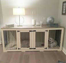 indoor wooden crate brilliant haus deko hundebox