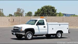 100 Utility Truck For Sale 2003 Chevrolet 2500HD 4x4 For Sale YouTube