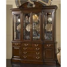 Henredon Breakfront China Cabinet by China Cabinets Buffets Servers Tampa St Petersburg