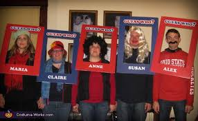 Guess Who Characters Group Costume