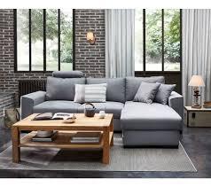 but canapé d angle convertible avec coffre de rangement canapé convertible nos modèles préférés pour le salon côté maison