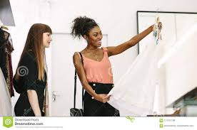 100 Boutique Studio Mode Woman Entrepreneur At Work In Her Fashion Stock Photo Image