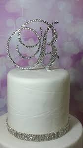 H Cake Topper How Adorable Is This Monogram Unique And Lovely