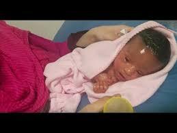 Mom Treats Newborn Who Looks Like Plastic Doll With Vaseline To