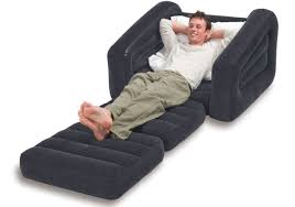 Intex Inflatable Pull Out Sofa Bed by Intex Inflatable Pull Out Chair And Twin Air Mattress