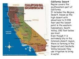 Californias Amazing 4 Regions
