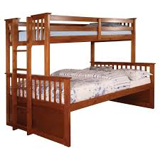Twin Over Queen Bunk Bed Plans by Furniture Of America Williams Twin Xl Over Queen Bunk Bed Hayneedle