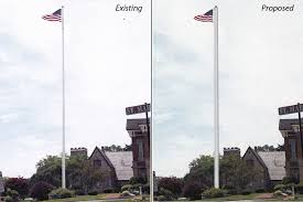 Flagpole Christmas Tree Plans by Selectmen Oppose Plan For U201cugly U201d New Town House Flagpole