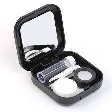 Amazoncom Adecco LLC Portable Contact Lens Case Travel Kit Mirror