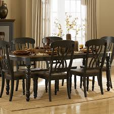 Weston Home Ohana Dining Table With Leaf Black/Cherry ... Coaster Boyer 5pc Counter Height Ding Set In Black Cherry 102098s Stanley Fniture Arrowback Chairs Of 2 Antique Room Set Wood Leather 1957 104323 1perfectchoice Simple Relax 1perfectchoice 5 Pcs Country How To Refinish A Table Hgtv Kitchen Design Transitional Sideboard Definition Dover And Style Brown Sets New Extraordinary Dark Wooden Grey Impressive And For Home Better Homes Gardens Parsons Tufted Chair Multiple Colors