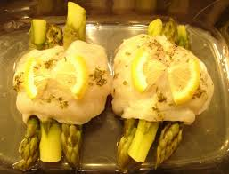 cuisine asperge filets de poisson blanc aux asperges vertes cuisson basse température