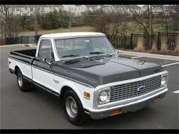 100 72 Chevy Trucks 19 Chevrolet C10 For Sale ClassicCarscom CC1146439