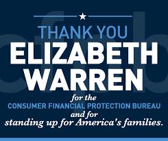consumer financial protection bureau elizabeth warren for senate consumer financial protection bureau