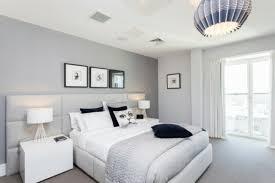murs et ameublement chambre tout en gris tendance ameublement