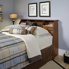 Sauder Shoal Creek Dresser Soft White Finish by Sauder Shoal Creek Oiled Oak Full Queen Headboard 410847 The