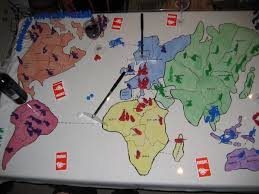 The State Of Play After Each Player Has Had A Turn Susan Purple Taken And Held North South America On Her First Go