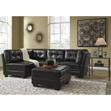 Levon Charcoal Sofa And Loveseat by Ashley Furniture Khalil Durablend Sectional In Black Space