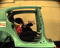 siege auto groupe 0 1 isofix crash test britax crash test simulation