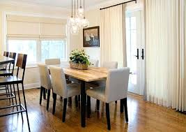 Curtains For Dining Room Ideas Mini Glass Light Fixtures Cute With Sheer