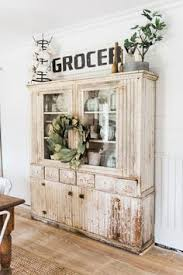 Shabby Chic Dining Room Hutch by How To Style A Dining Room Hutch Dining Room Hutch Room And