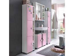 moderne badmöbel in rosa weiß 4 teilig haus badezimmer
