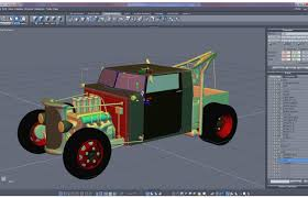 100 3d Tow Truck Games Rat Rod By Kenmo 3D Modeling Work In Progress