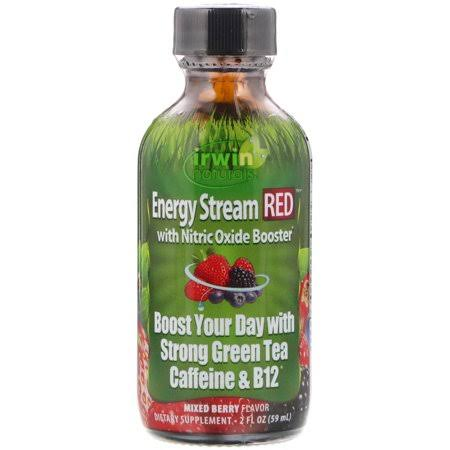 Irwin Naturals - Energy Stream Red - Mixed Berry - 2 oz