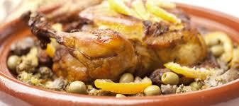 cuisine maghrebine recette de tajine de poulet au citron confit à la di stasio
