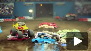 100 Monster Jam Toy Truck Videos Amazing TiltShift Video From Rally