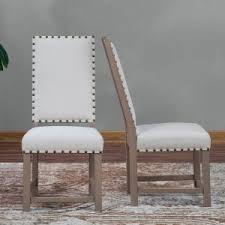 Belham Living Asher Nailhead Parsons Dining Chair