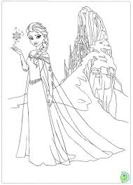 Pin Drawn Frozen Color 8