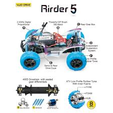 100 Off Road Remote Control Trucks GP TOYS RC Cars Rirder 5 Monster Truck