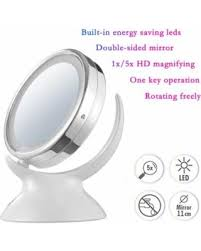 surprise 31 off double sided led lighted desktop makeup mirror