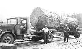 100 1930s Trucks Rose Cab Company Fageol Truck Hauls Enormous Log The Old Motor