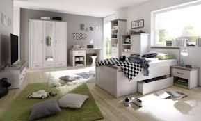 jugendzimmer luca in pinie weiß und trüffel 7 teilig mit kleiderschrank 90er jugendbett mit bettkasten nachttisch schreibtisch highboard tv