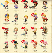 theatrhythm curtain call theatrhythm curtain call list of characters