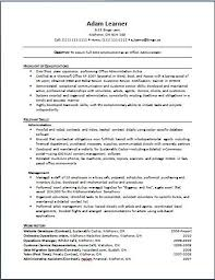 Best Resume Template Canada