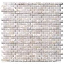 Glass Tile Nipper Home Hardware by Splashback Tile Mother Of Pearl Mini Brick Pattern 11 1 4 In X 12