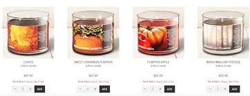 Bath And Body Works Pumpkin Apple Candle by Bath And Body Works 3 Wick Candles Buy 2 Get 2 Free 10 Off 30