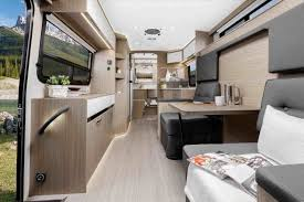 Trek With Bed Diy Rhpneumatictireus Camperinteriorlayout Modern Rv For Sale Safari Interior