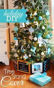 Christmas Tree Skirt Ideas Hinged Frame Cover