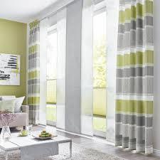 deko vorhang plus schiebegardine für ihr wohnzimmer