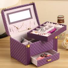 Unique Jewelry Box Case Popular Portable Display Cases Buy Cheap