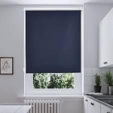 50x150cm rollos i home klemmfix thermo seitenzugrollo verdunkelungs ohne bohren gardine vorhang blau
